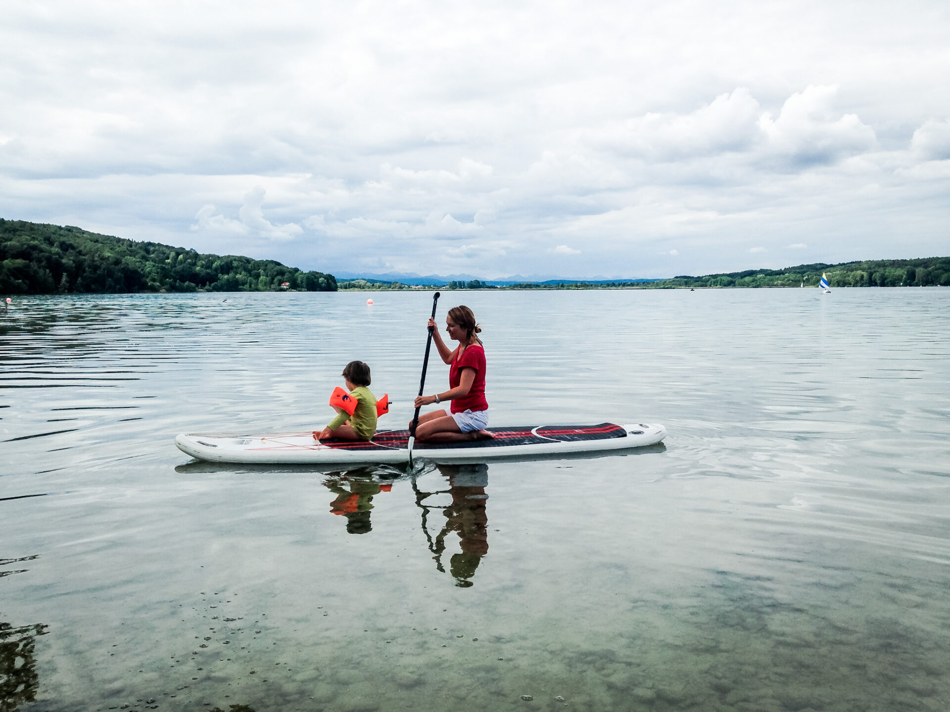 Stand-up-Paddling in Bayern