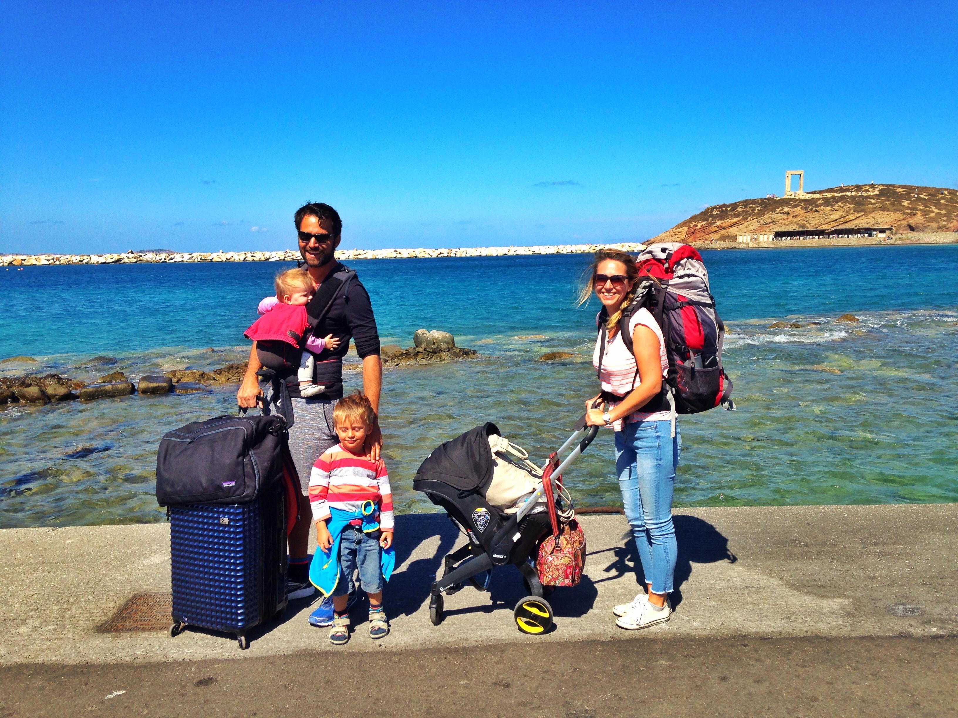 Inselhüpfen Griechenland mit Kindern Kykladen
