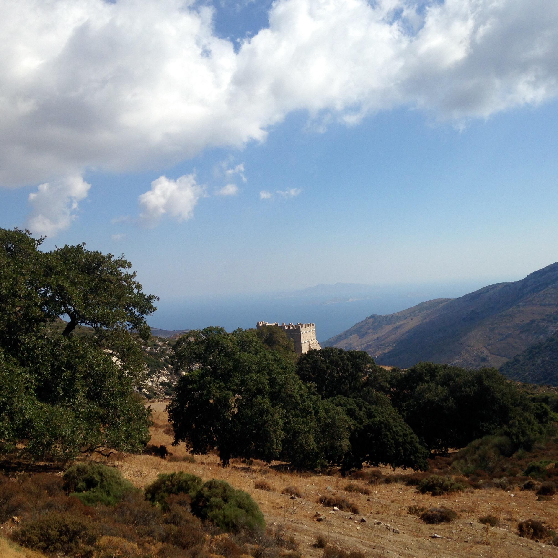 Kloster Fotodotis auf Naxos