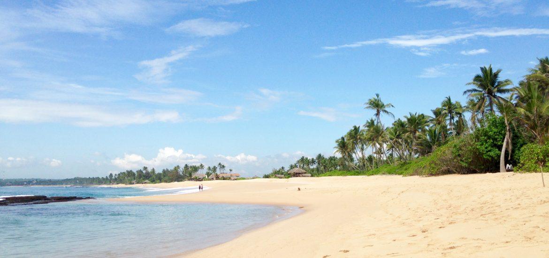 Tangalle Beach auf Sri Lanka