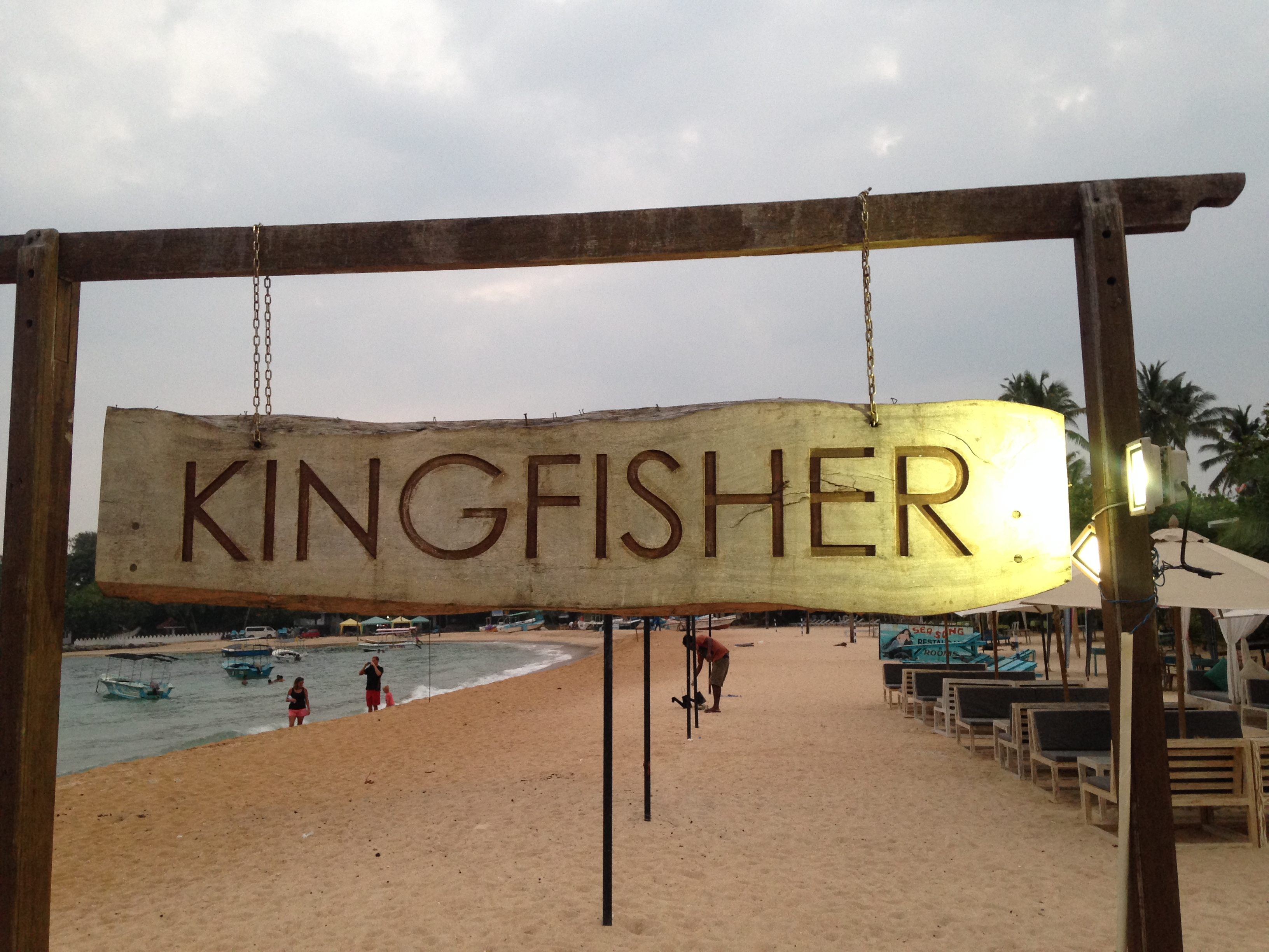 Our favorite restaurant Kingfisher