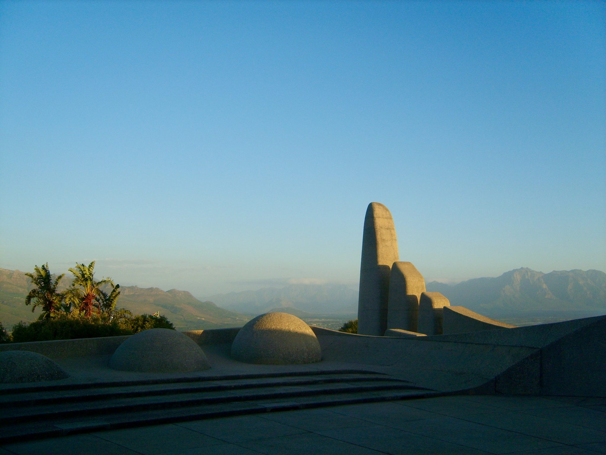 Paarl monument South Africa