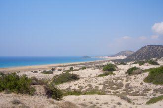 Menschenleerer Traumstrand Nordzypern