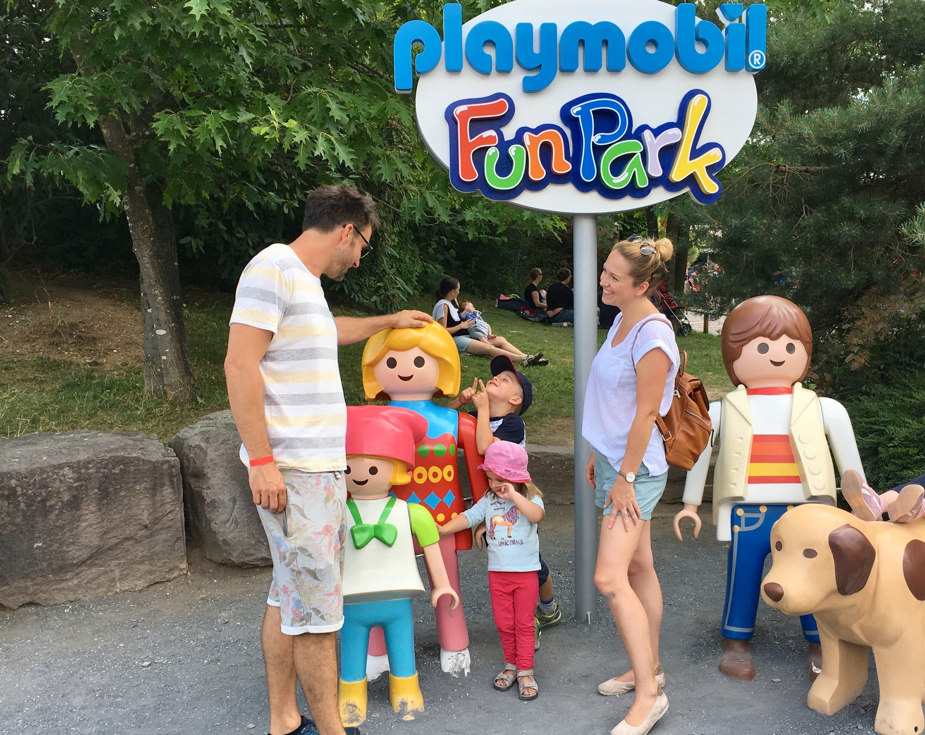 Munich excursion destination with children of PLAYMOBIL FunPark in Zirndorf
