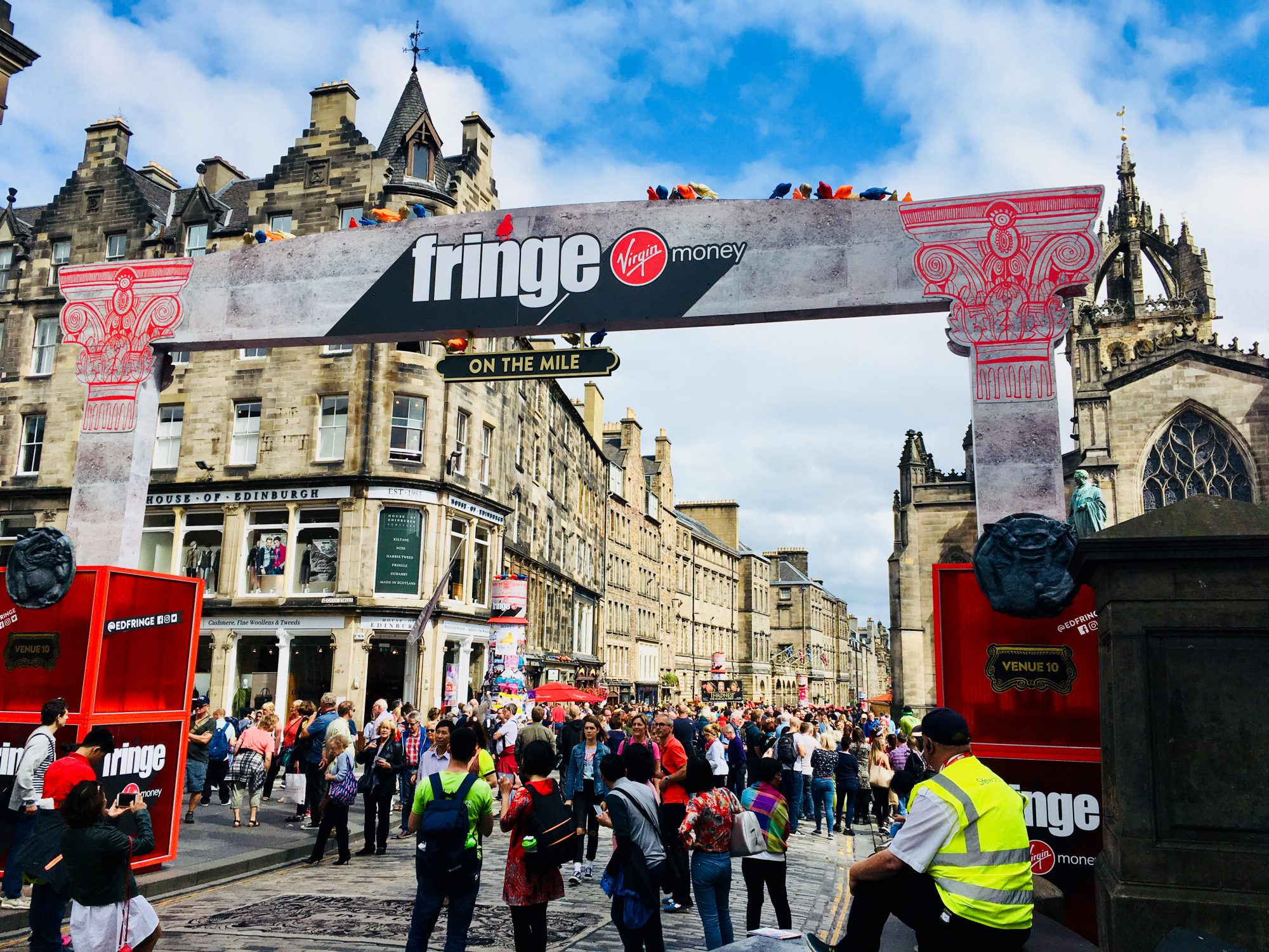 Edinburgh Festival in 15 Bildern