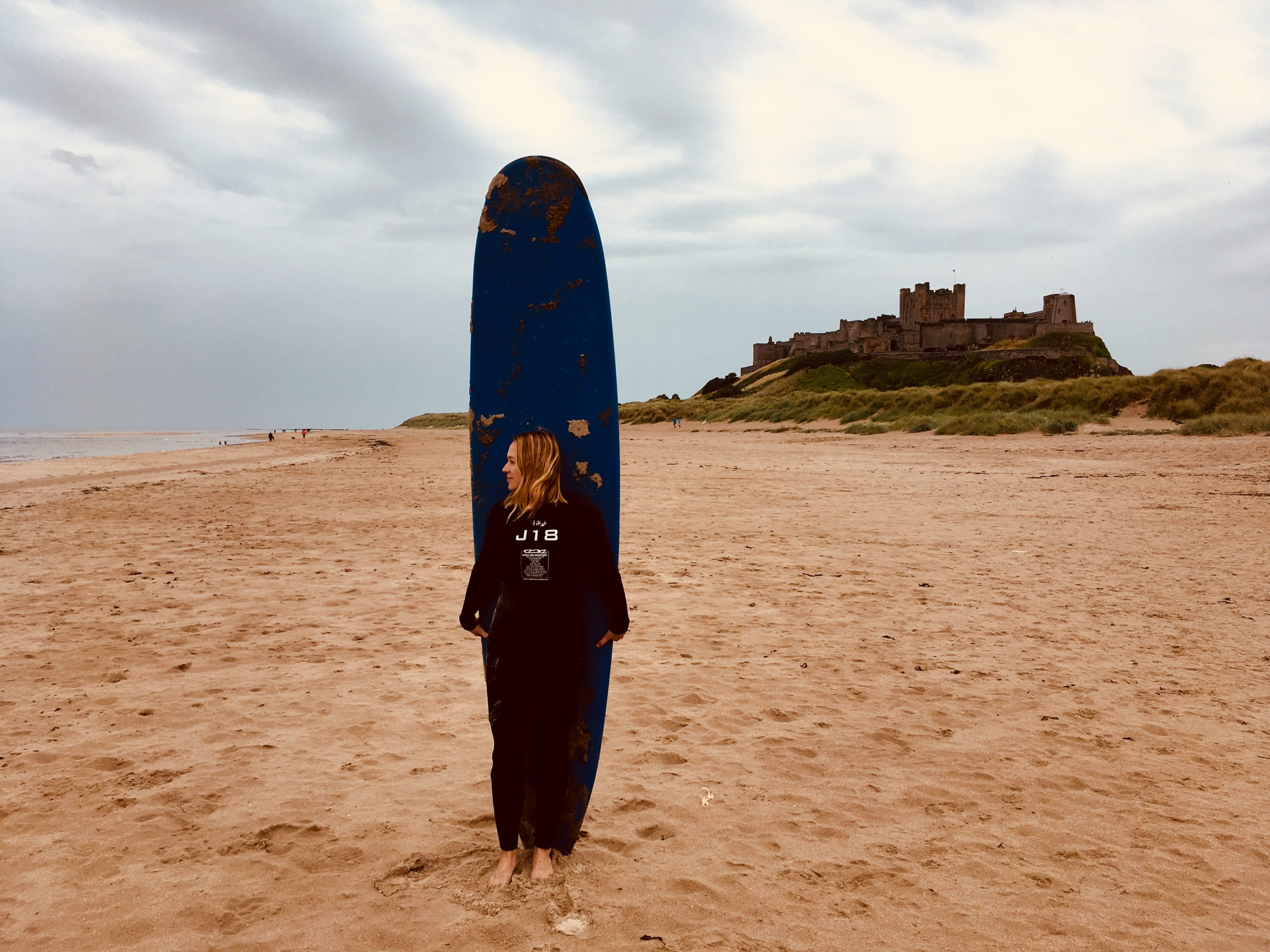 Surfen in England Northumberland