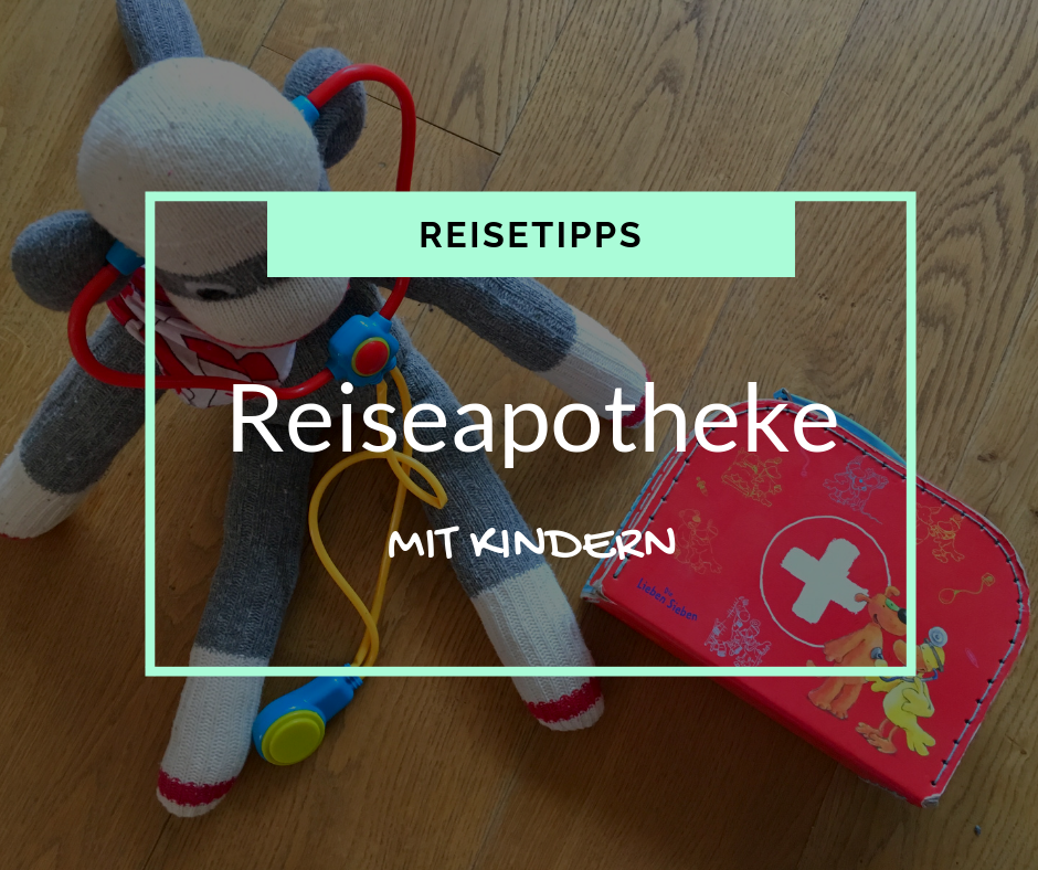 First aid kit with children