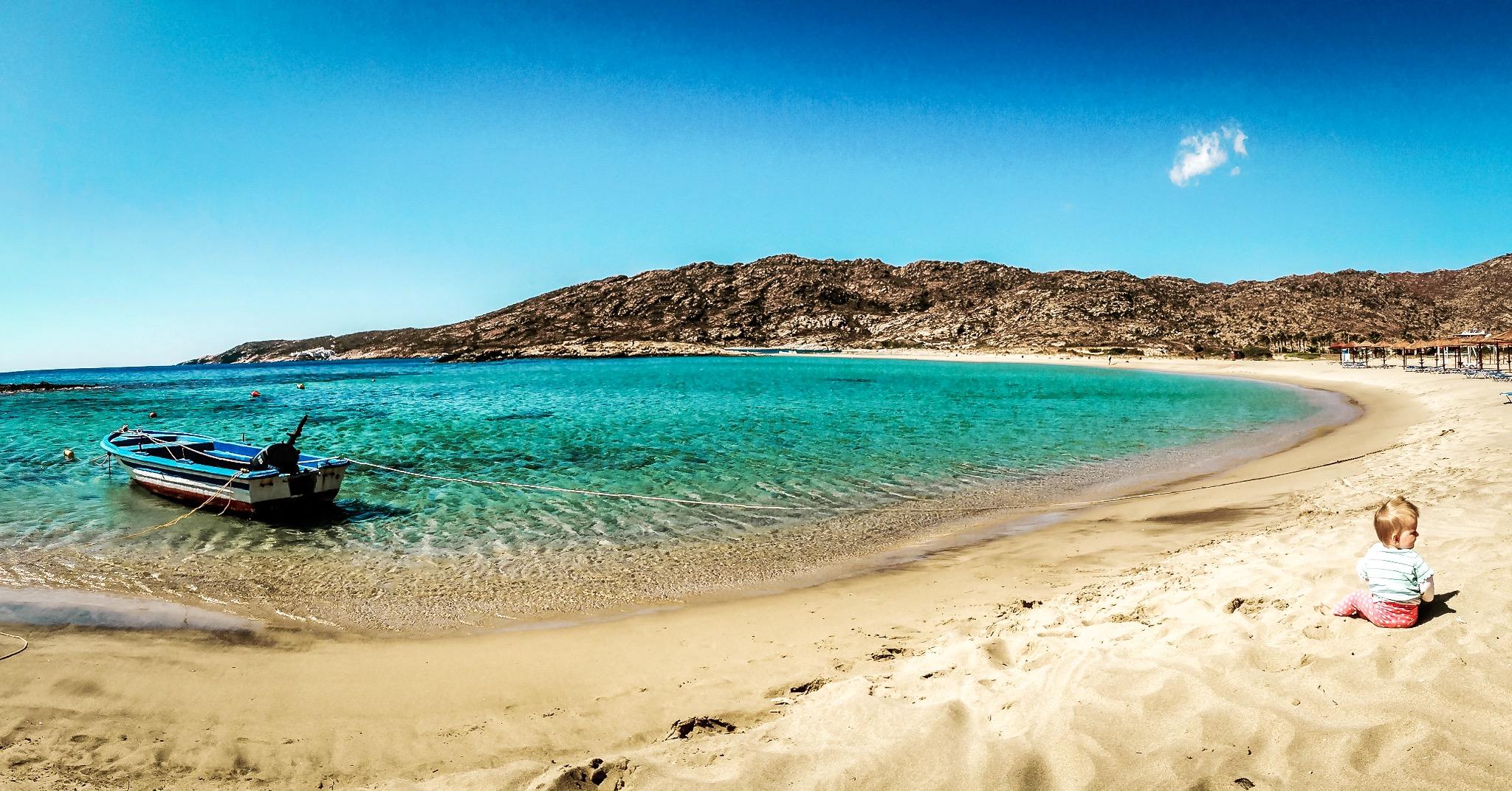 Maganari Beach schönse Strände in Europa